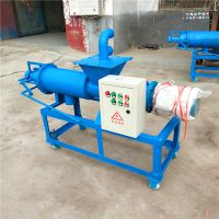 供应牛粪鸭粪脱水机 养殖场牲畜粪便脱水干燥设备