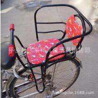 电动车座椅自行车儿童宝宝座椅后置座椅婴儿加大加厚单车后置坐椅