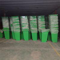240L垃圾桶 圆形挂车垃圾桶生产厂家