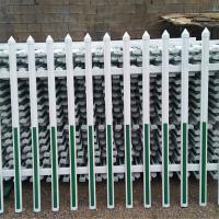 pvc围墙栅栏l配电箱防护围栏l厂家直销pvc围墙护栏