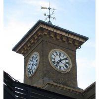 室外建筑塔钟学校大门钟教堂挂钟防水报时挂钟大面钟屋顶挂钟