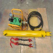 厂家直销矿用10T气动紧链器 20T气动紧链器 30T气动液压紧链器