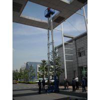 维修铝合金升降机平台 垂直移动式升降平台 高桅柱铝合金阜阳市启运销售