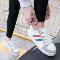 小白鞋女春鞋休闲版车缝线平底鞋学生潮鞋女风休闲鞋,运动鞋,舞