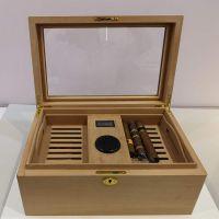 厂家定制包装盒 原木熏蒸高档香烟包装盒 布尔道格雪松木雪茄盒
