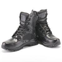 厂家直销CQB.SWAT三角洲战术高帮军靴沙漠靴我是特种兵真皮特战靴
