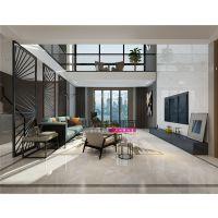 【山水装饰阜阳公司】林海尚城270平米现代简约复式空间设计案例