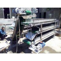 快递分拣铝型材支架输送机量身定制 水平式传送机