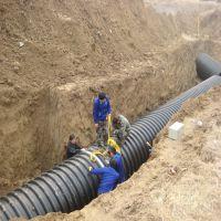 贵州世腾双壁波纹涵管排污供应商