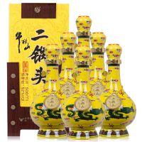 牛栏山经典二锅头黄龙 牛栏山52度500ml清香型白酒