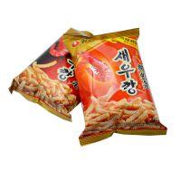 农心 鲜虾条/辣鲜虾条40g*30 两种口味可选 休闲零食 食品批发