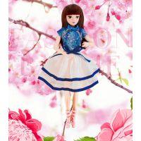 新品幼儿园礼物玩具单个盒装公主玩具女孩娃娃玩具乐馨儿6376A-48