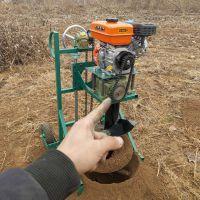 畜牧围栏立柱打眼机 拖拉机牵引植树挖坑机 启航地钻打洞机型号