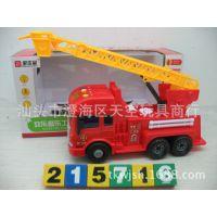 宝乐星玩具厂 6875 惯性消防车 儿童玩具车 仿真车模型 厂家直销