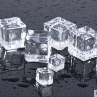 假透明冰块 仿真冰块道具透明亚克力 水晶石大冰粒正方形1-4cm