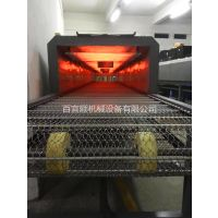 厂家百宜顺专业定做隧道炉烘干线丝印烘干流水线不锈网带烘干炉多种物流单级式