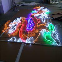 出口灯带图案装饰灯,强光LED造型灯,环保耐用的路灯杆造型灯