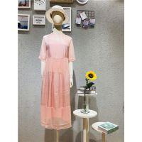 玛丝菲品牌2019夏季真丝连衣裙一手货源批发