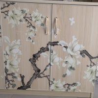 3D玻璃衣柜门彩绘机 玻璃橱柜门万能彩绘机