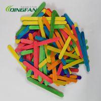 DIY手工木条棒 原色彩色冰棍棒雪糕棒 幼儿园手工创意制作材料
