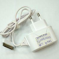 白色手机充电器 1A充电器批发  欧规家用圆脚有线充电器厂家