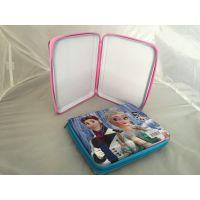 加工订做马口铁笔盒 24支颜色蜡笔盒 拉链盒
