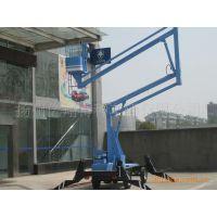 13米升降平台 升降车 折臂式高空作业车 高空安装