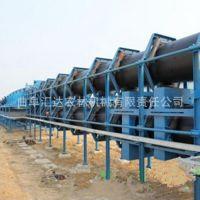 圆管带式输送机炉渣专用 轻型