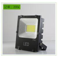 LED投光灯50W5054黑金刚LED防水泛光灯COB投光灯户外照明亮化照明