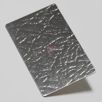 304不锈钢皮革纹发纹压花板