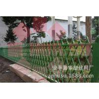 【华塑围栏】仿竹护栏 草坪护栏 竹篱笆 竹节护栏--河北护栏厂家