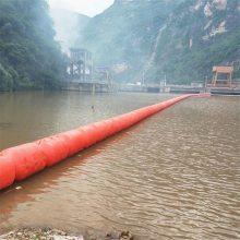 石渠县水电站拦污浮体 水库汛期漂浮物拦截阻挡浮筒