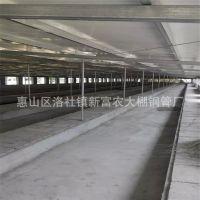 供应 云南果蔬农业大棚材料 热镀锌钢管 建造温室大棚 养殖大棚