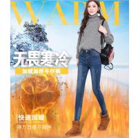 河北廊坊批发库存韩版牛仔裤在哪里有便宜牛仔裤工厂清货尾货价格低至5元批发