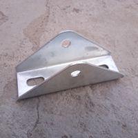 光伏支架C型钢安装支架配件三角转向结直角连接件厂家直销