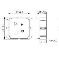 声表滤波器 TA1654A 1435MHz 1410-1460MHz 频率元件