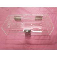 厂家定制考勤机亚克力透明外壳保护盒保护罩指纹签到机外壳防护罩