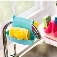 马鞍式两用杂物沥水篮置物架 厨房清洁水槽收纳沥水挂袋
