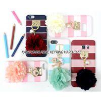 韩国ABARCA手机壳iphone7/7plus花朵挂件6/6splus/note5/S8plus壳