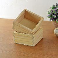 厂家直销木质花器 多功能植物多肉盆栽花盆 迷你家居整理收纳盒