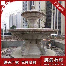 石雕喷泉定做 大理石石雕喷泉