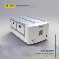 帕菲特蓄电池电动AGV无轨平车 牵引平板车 搬运车 智能AGV机器人