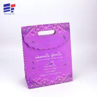 彩色化妆品购物小礼品袋 手提时尚环保纸袋 深圳包装厂家定做印刷