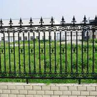 厂家铁艺护栏别墅庭院围栏护栏杆定制批发学校社区铁艺围墙栅栏