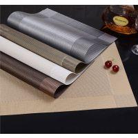 厂家直销特斯林桌布 特斯林餐垫 PVC餐桌垫 酒店西餐垫出厂价供应