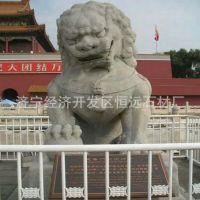 长期供应石雕动物 仿古石雕狮子 优质石雕动物 石头雕刻