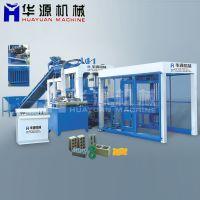 QT10-15水泥砖机 全自动液压 环保砌块砖机 透水空心砖机机械设备