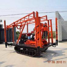 高速150型履带岩心钻机参数 小型液压岩芯钻机厂家