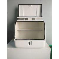 供应东南亚客户订购的带隔板的配送箱外送箱储物箱货箱快递箱
