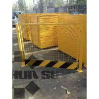 【厂家直销】基坑用红白色隔离护栏、道路交通防护围网、施工围栏
